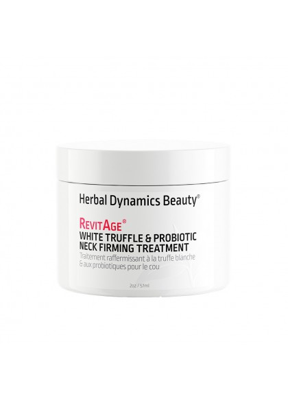 MASCARILLA REAFIRMANTE CON PROBIÓTICOS CUELLO & ESCOTE WHITE TRUFFLE & PROBIOTIC NECK FIRMING TREATMENT