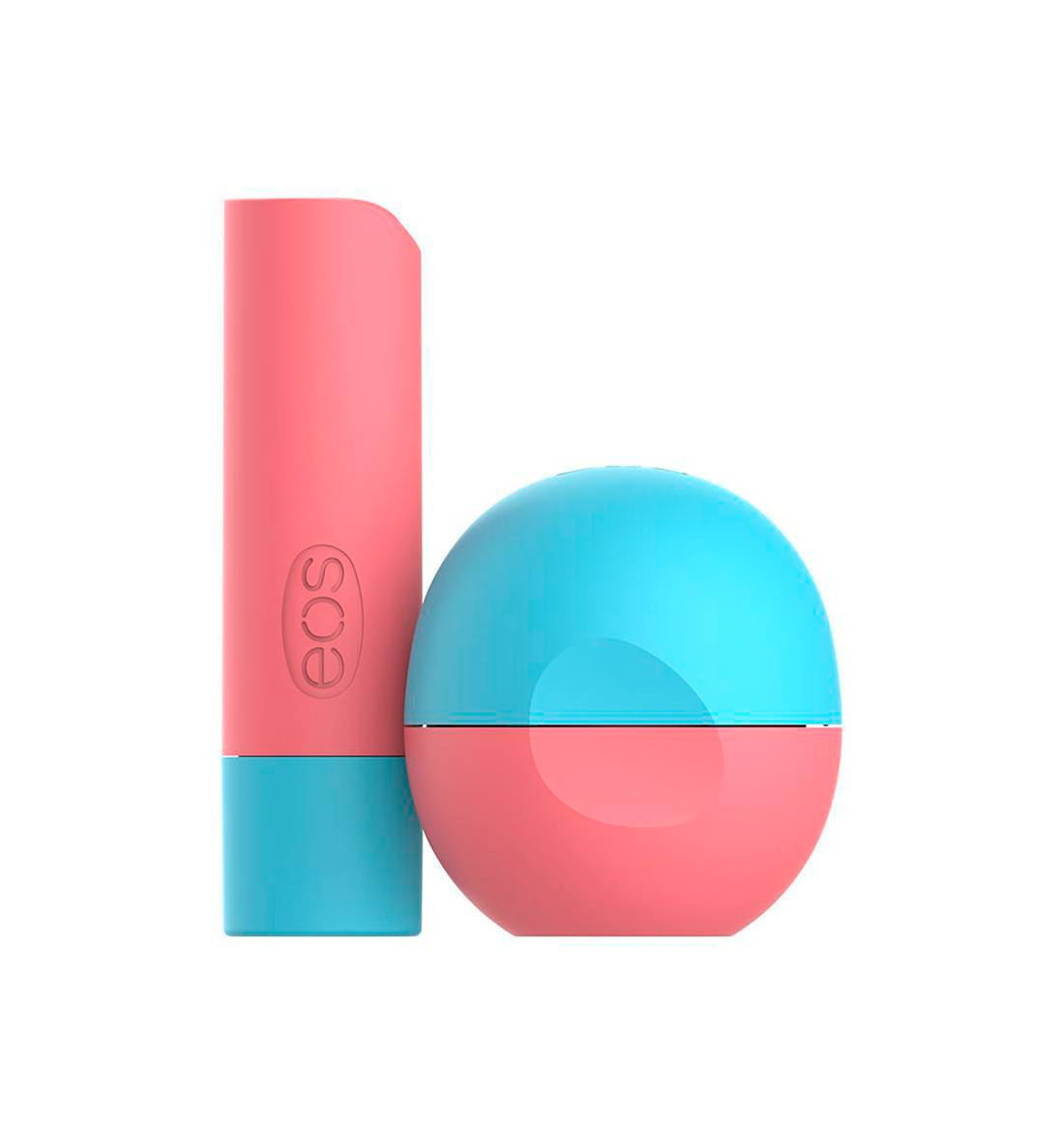 EOS LYCHEE MARTINI STICK AND SPHERE LIP BALM